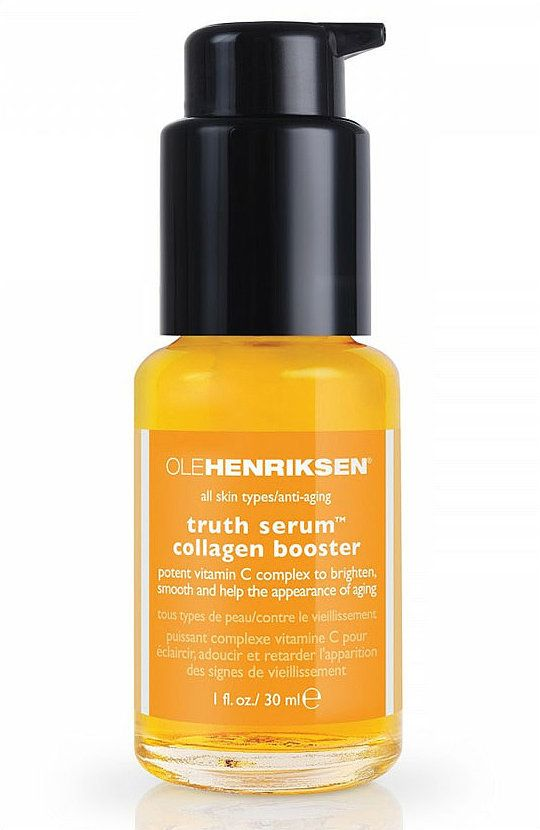 Editor Favorite: Ole Henriksen Truth Serum Collagen Booster ($48) @Oleander Barber Henriksen