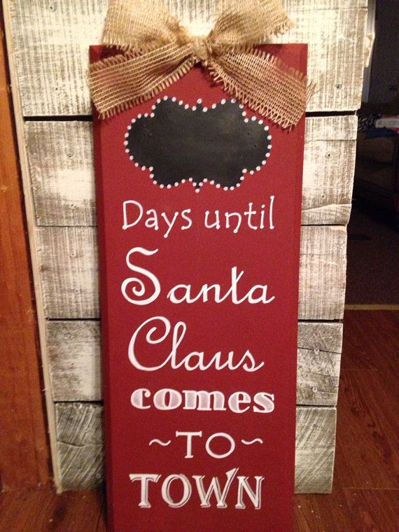 Christmas Countdown on Etsy, $50.00
