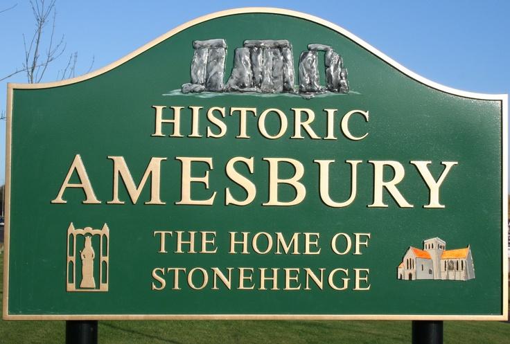 Amesbury, Wiltshire - The home of Stonehenge