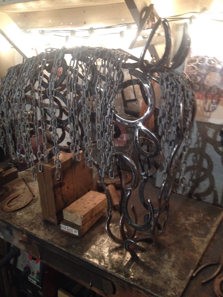 1000 images about diy horse shoe idea 39 s on pinterest for Shoe sculpture ideas