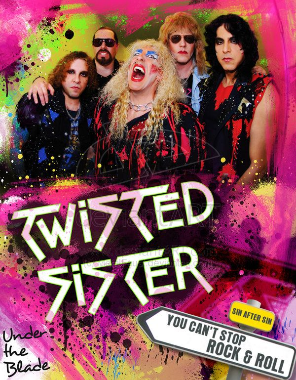 Twisted Sister Artwork Twisted Sister By Metalfaust On