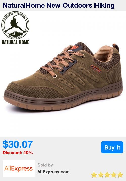NaturalHome New Outdoors Hiking Shoes Men New Outdoor Designer Boots Trekking Shoes Men' Walking Shoes Man Athletic Boot * Pub Date: 10:22 Apr 11 2017