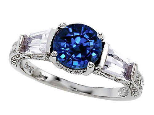 Original Star K(tm) Round 7mm Created Sapphire Engagement Ring LIFETIME WARRANTY Star K. $96.98. Certificate of Authenticity Included with this item. Free Lifetime Warranty exclusively offered by Finejewelers. Guaranteed Authentic from the Star K designer line. Free High End Jewerly Box and Gift Packaging. Star K. Designs are exclusive and protected by Copyright Laws
