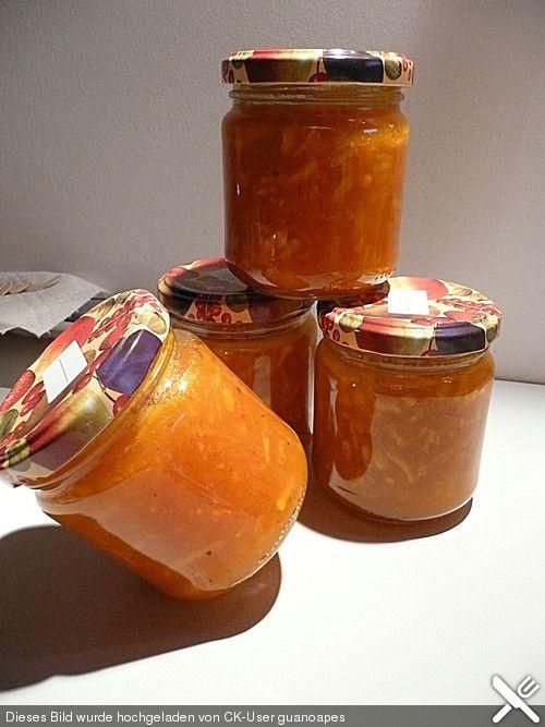 Apfel - Kürbis - Marmelade