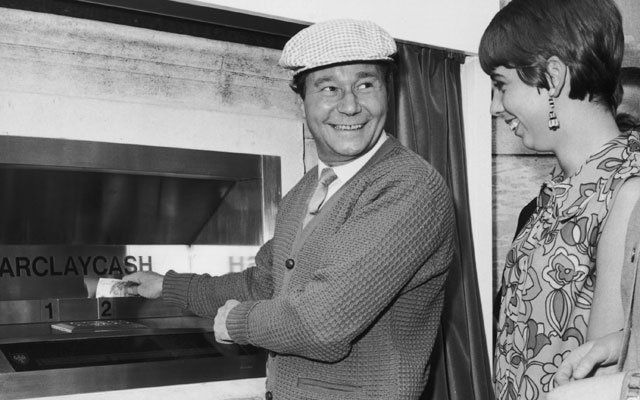 Reg Varney and the First Cash Point in 2020 | First novel ...