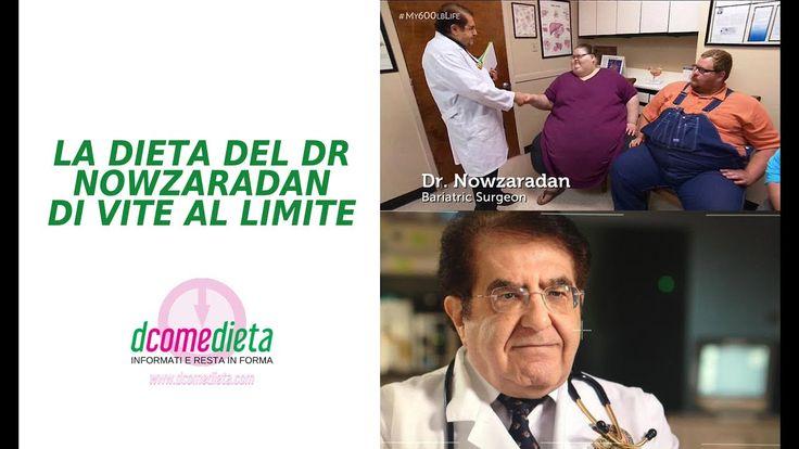 Dieta dr Nowzaradan di Vite al limite