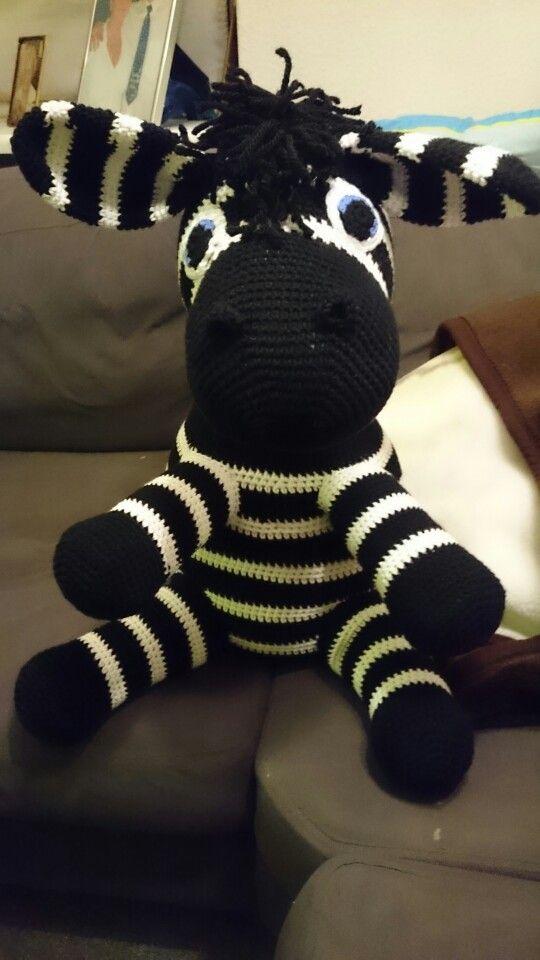 Stor hæklet zebra