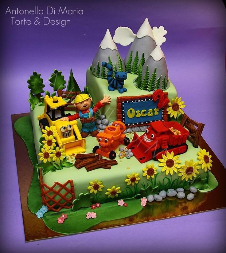 Birthday Party Ideas Augusta Ga: 1000+ Ideas About Bob The Builder Cake On Pinterest