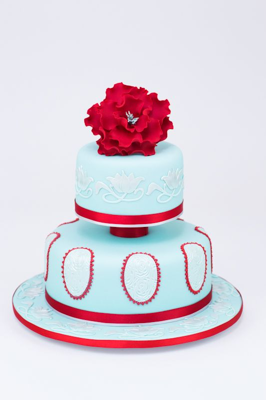 A Little Cake Place | One & Two Tier Cake Designs
