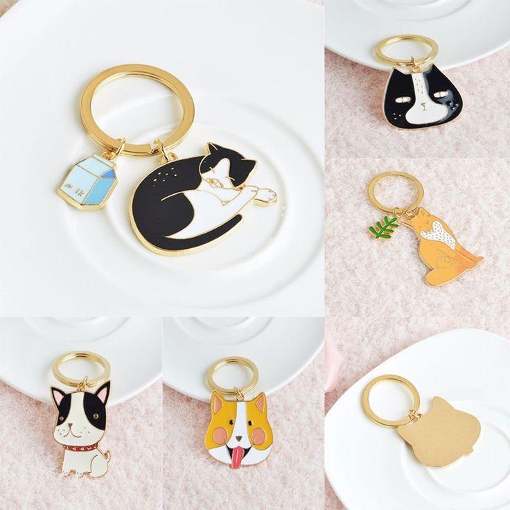 Alloy Jewelry Animals Key Ring Bag Pendant Keychain  | eBay