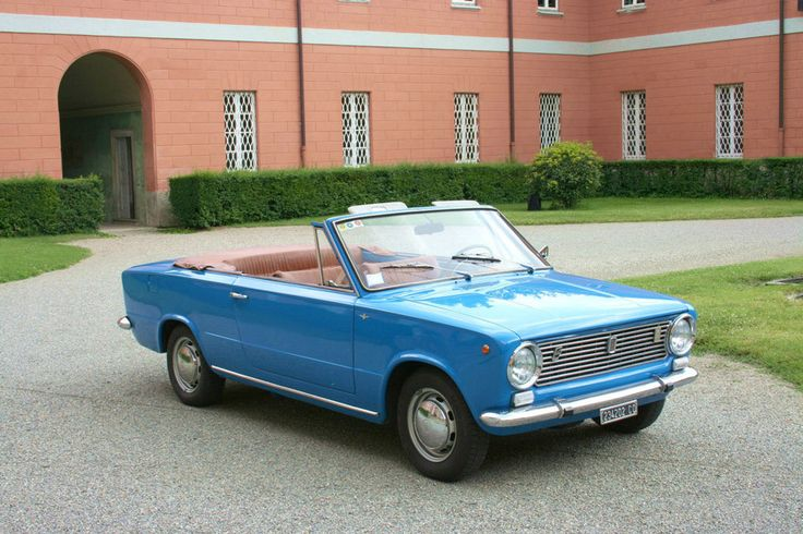 Fiat 124 Touring Cabriolet