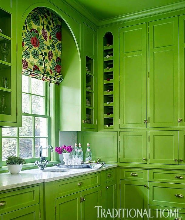 Awesome Green Kitchen CHARTREUSE Pinterest
