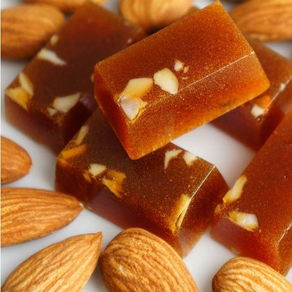 Almond Hard Candy Sweet Treats Honey Candy   Homemade
