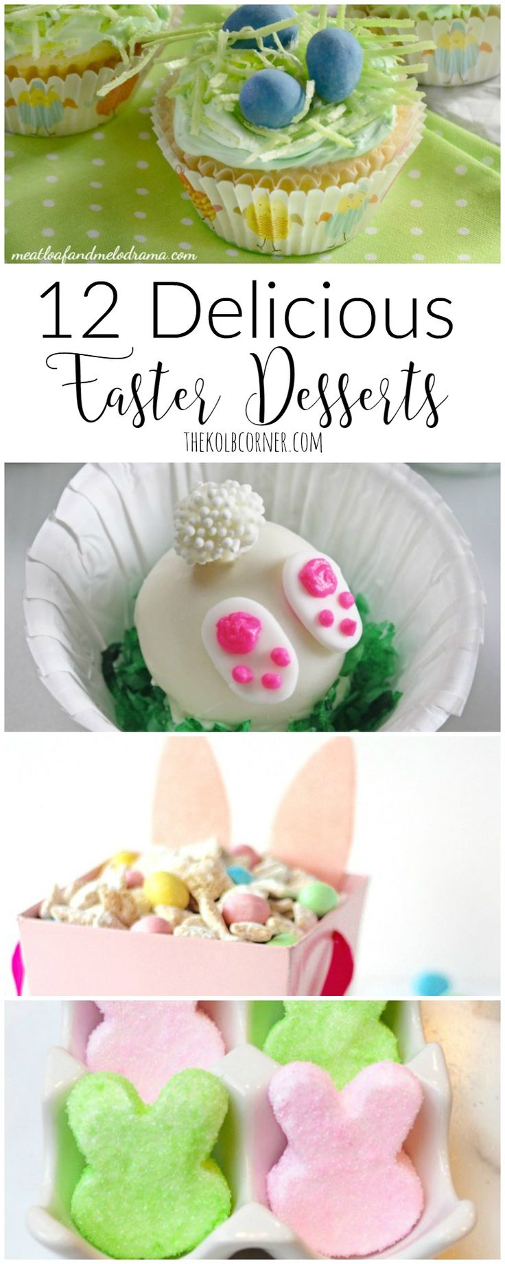 160 best easter ideas images on pinterest anniversary ideas 12 delicious easter desserts negle Choice Image