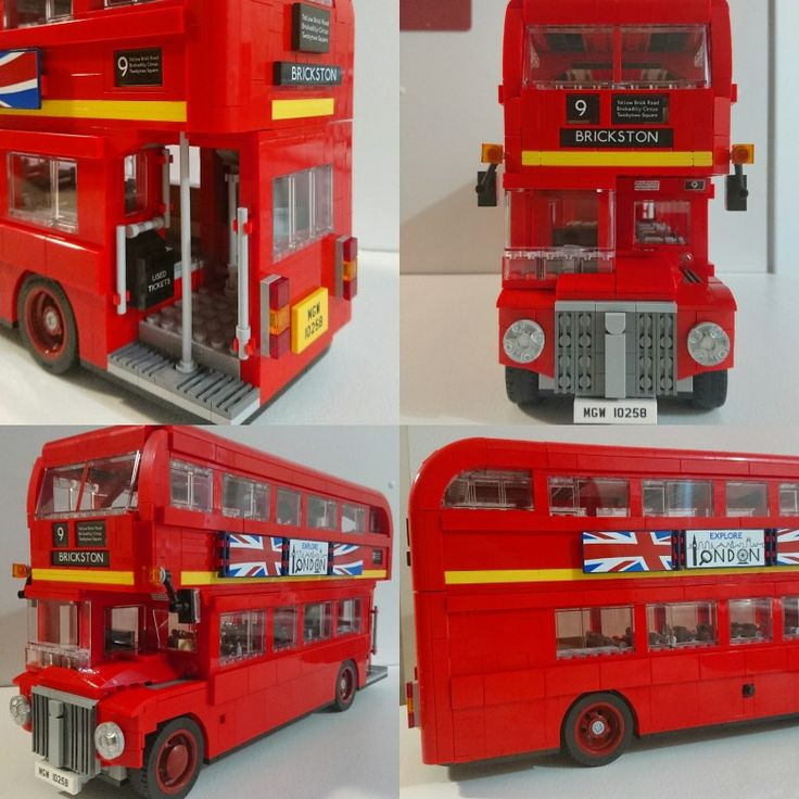 Had a lot of fun making this Lego London Bus with my wife today. 1,600+ pieces. Lots of fun! Set #10258
