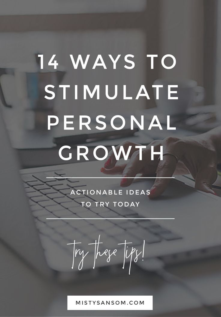 Personal Goals Self Improvement