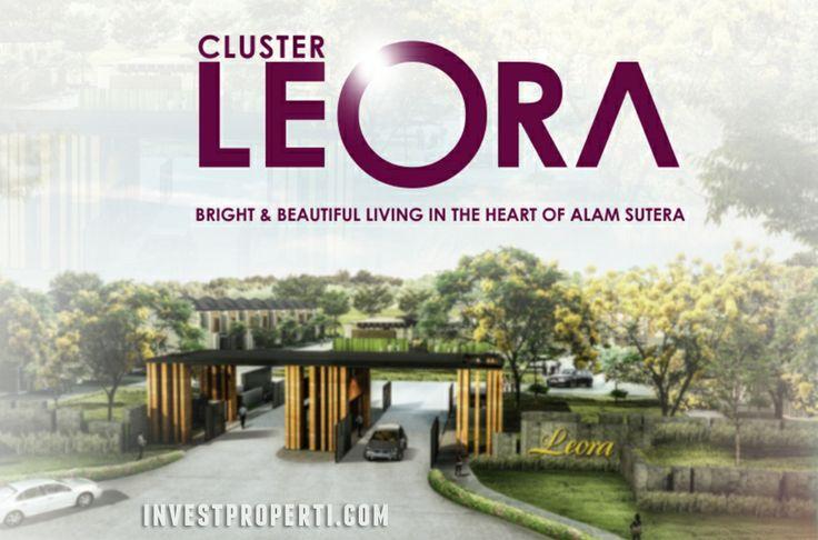 Cluster LEORA ALam Sutera, Tangerang.