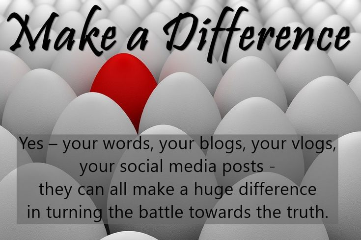 Making a Difference   Social Media Battle: Blogging for Truth, Justice and Everything We Hold Dear