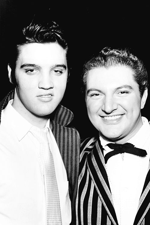 Elvis and Liberace in Las Vegas, 1956