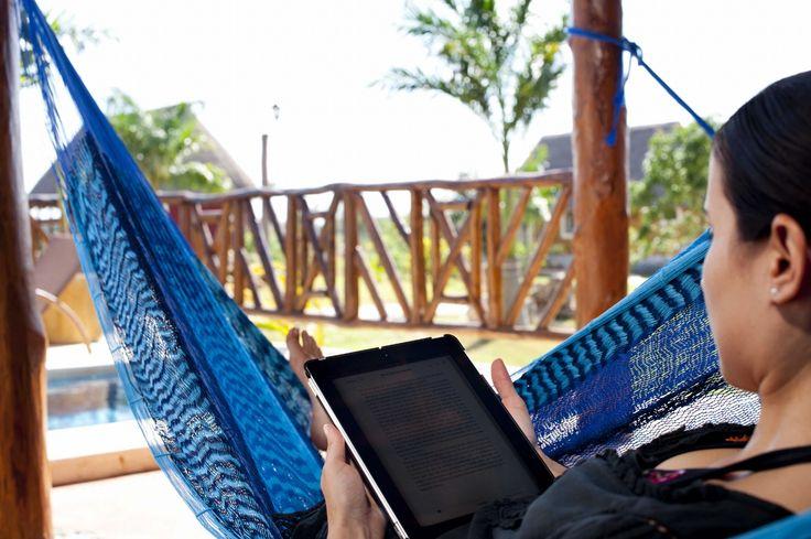 Wi-Fi in all rooms / Internet inalámbrico en todas las habitaciones. Hacienda Sotuta de Peón, Yucatan, Mexico