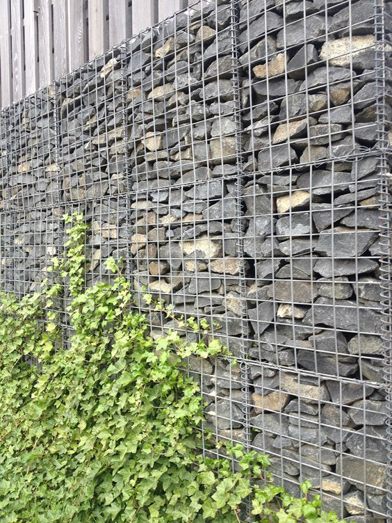 66 best gabion images on Pinterest Gabion wall Stone and Walls