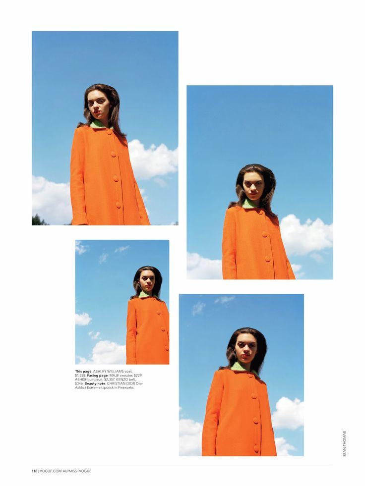 visual optimism; fashion editorials, shows, campaigns & more!: big city beat: magda laguinge by sean thomas for miss vogue australia #1