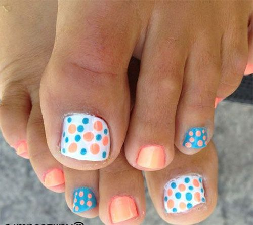 Toe Nails For Fall 2017: 34 Best Images About Easter Toe Nail Art Designs On