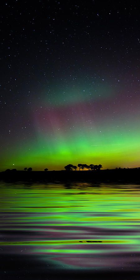 The aurora on October 8th, 2012 in North Fife, Scotland