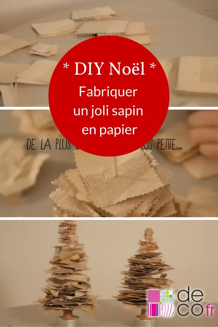 diy d coration de no l cr er facilement un joli sapin en. Black Bedroom Furniture Sets. Home Design Ideas