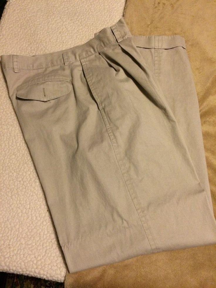 Mens Khaki Pants 36 X 34L Nautica  | eBay