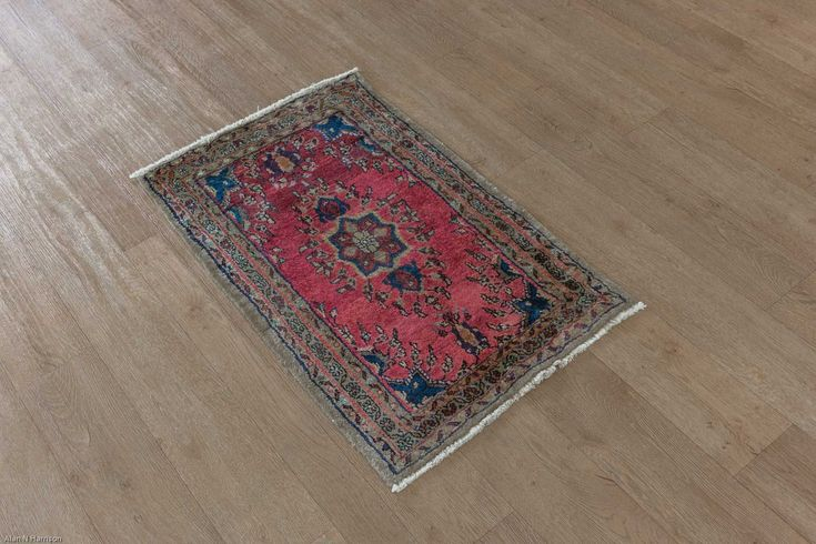 Hand Knotted Hamadan Rug from Iran (Persian). Length: 97.0cm by Width: 67.0cm. Only £99 at https://www.olneyrugs.co.uk/shop/rugs-for-sale/persian-hamadan-22636.html    Behold our charming catalogue of oriental and Persian rugs, foot stools and Kilim bags at www.olneyrugs.co.uk
