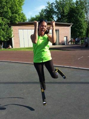 Record italiano per Giusy Versace nei 200 metri Paralimpici a Lodi