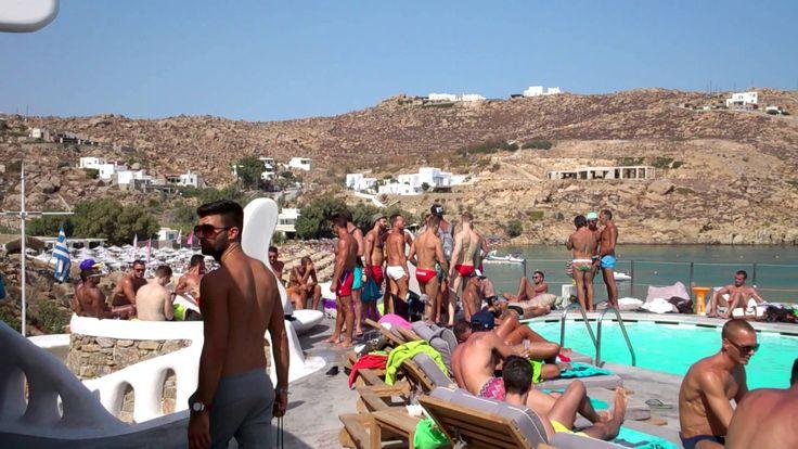 JackieO' @SuperParadise Beach, Mykonos.