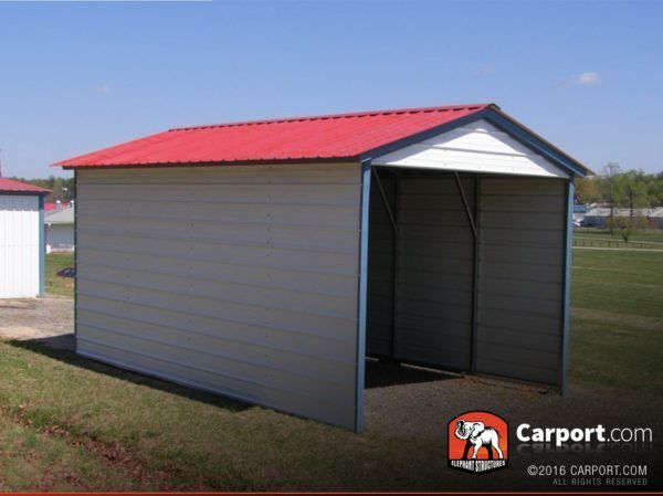 Vertical Roof 1 Car Metal Carport 12 X 21 Pergola Carport Carport Portable Carport