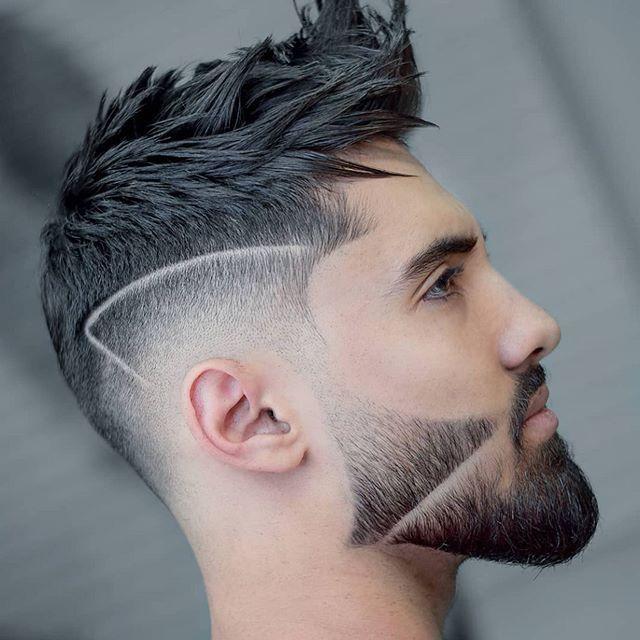75 Manner Kurze Verblassende Frisur In 2020 Rasiert Seite Frisuren Frisuren Haarschnitt Ideen