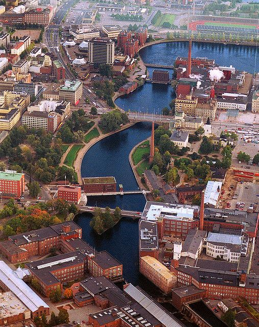 Tampere, Finland -- (via Taina L. http://www.pinterest.com/pin/429319776951591564/ )