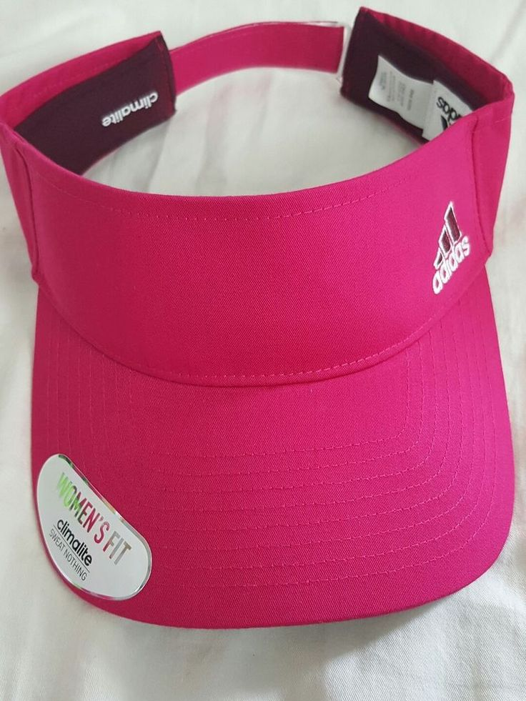 Adidas Women Visor Climalite Bold Pink One Size | Sporting Goods, Golf, Golf Clothing, Shoes & Accs | eBay!