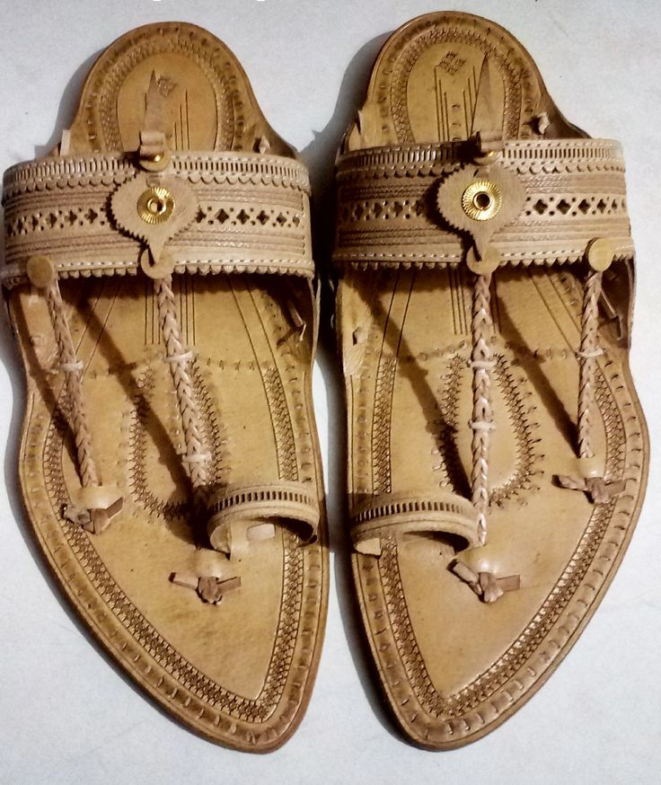 men, special handcraft authentic kolhapuri punch design