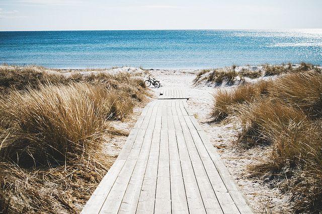 Falsterbo beach.