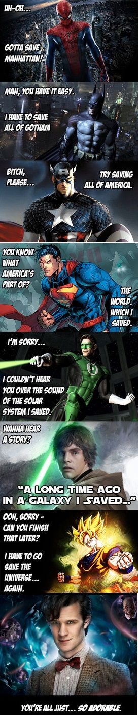 Superhero progression