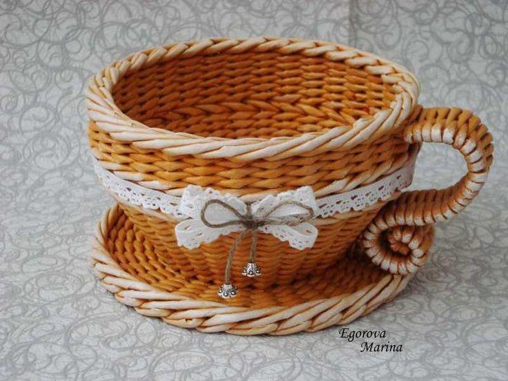 Тема: плетенки от марины (51/53) - Плетение из газет и другие рукоделия - Плетение из газет