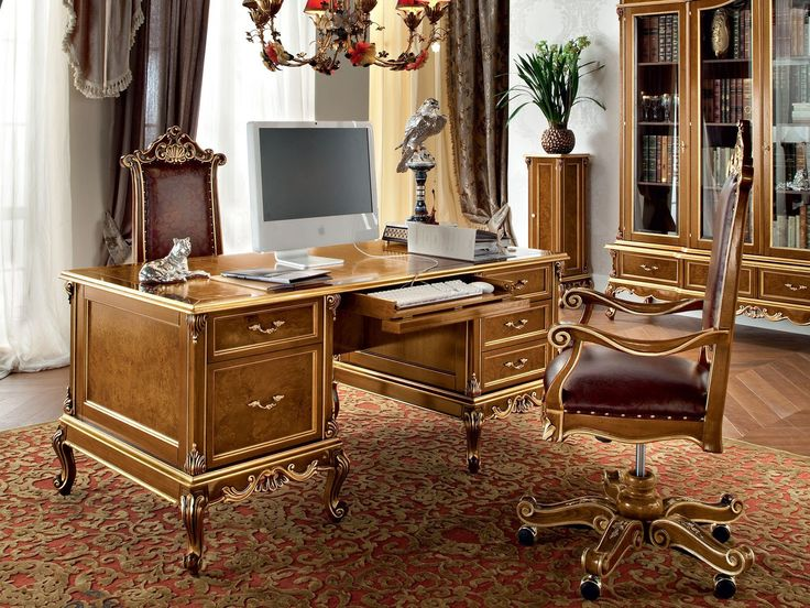 Classic Office Desks - Home Office Furniture Ideas Check more at http://www.drjamesghoodblog.com/classic-office-desks/