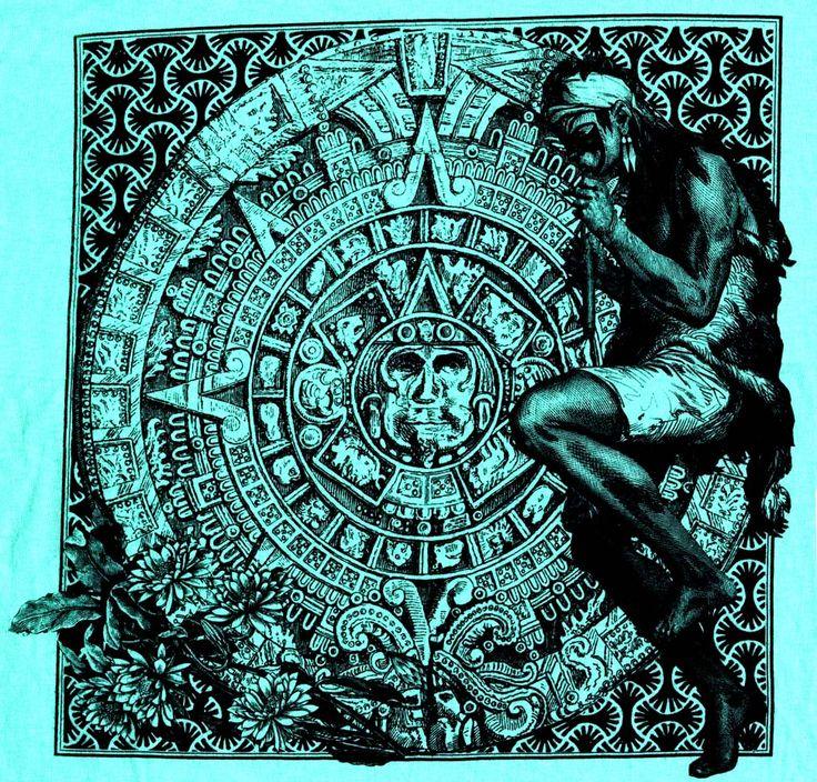 Aztec Calendar Art Lesson : Best images about aztec mayan incan art on pinterest