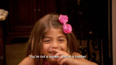 "10. She laughs at her own jokes. | 15 Reasons Milania Giudice Is The True Star Of ""The Real Housewives Of New Jersey"""
