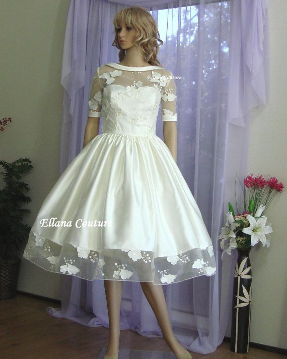 Best SAMPLE SALE Faith Vintage Inspired Wedding Dress Retro Style Bridal Gown