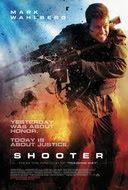 THE CINEMA 212: Shooter (2007)  Sinopsis :  Bob Lee Swagger (Mark Wahlberg) adalah mantan penembak jitu Amerika Serikat. Ia mampu menembak dalam jarak jauh. Swagger pensiun setelah sebuah misi yang menewaskan teman baiknya. Swagger dibujuk kembali oleh FBI untuk bekerjasama pada sebuah misi terakhir kalinya.