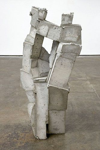 a sculpture by gustavo godoy called 'brick'