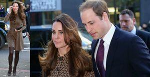 Kate Middleton repete vestido de R$ 500 após quase dois anos - Em evento com o Príncipe William, a duquesa Kate Middleton aposta no vestido que usou em 2012