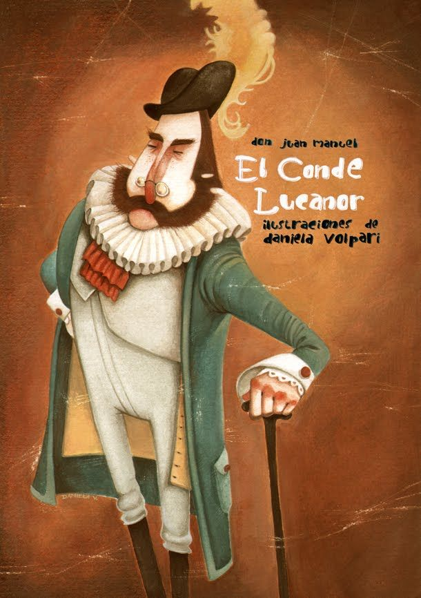 "Daniela Volpari illustration for ""El Conde Lucanor""."