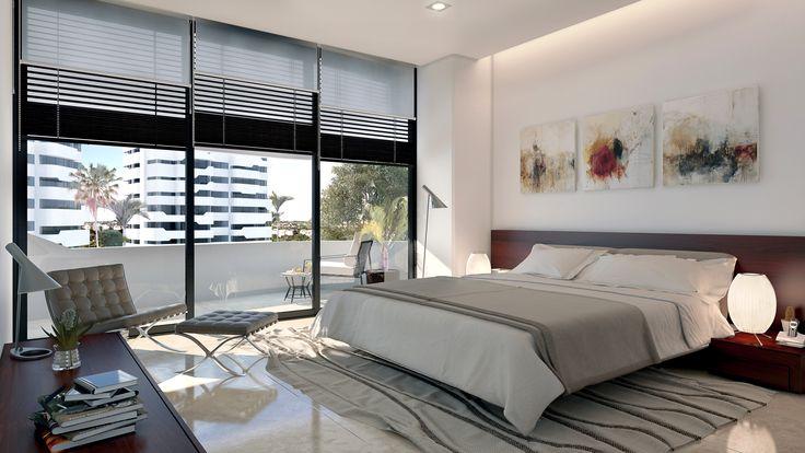 Habitación - Recámara - Bedroom - room - EVA3D